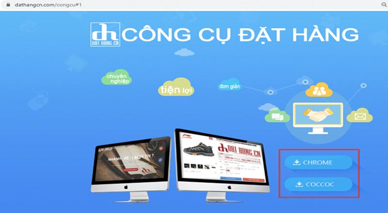 Cài đặt tiện ích công cụ hỗ trợ nhập hàng của iChina Company